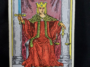The Justice Card - No 11 in the Major Arcana