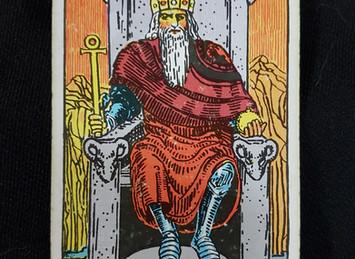 The Emperor No 4 in the Major Arcana