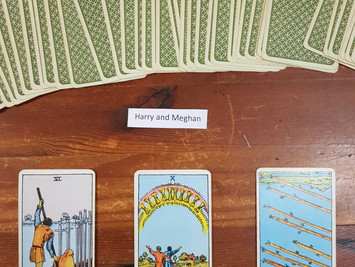 3 Card Simple Tarot Spread