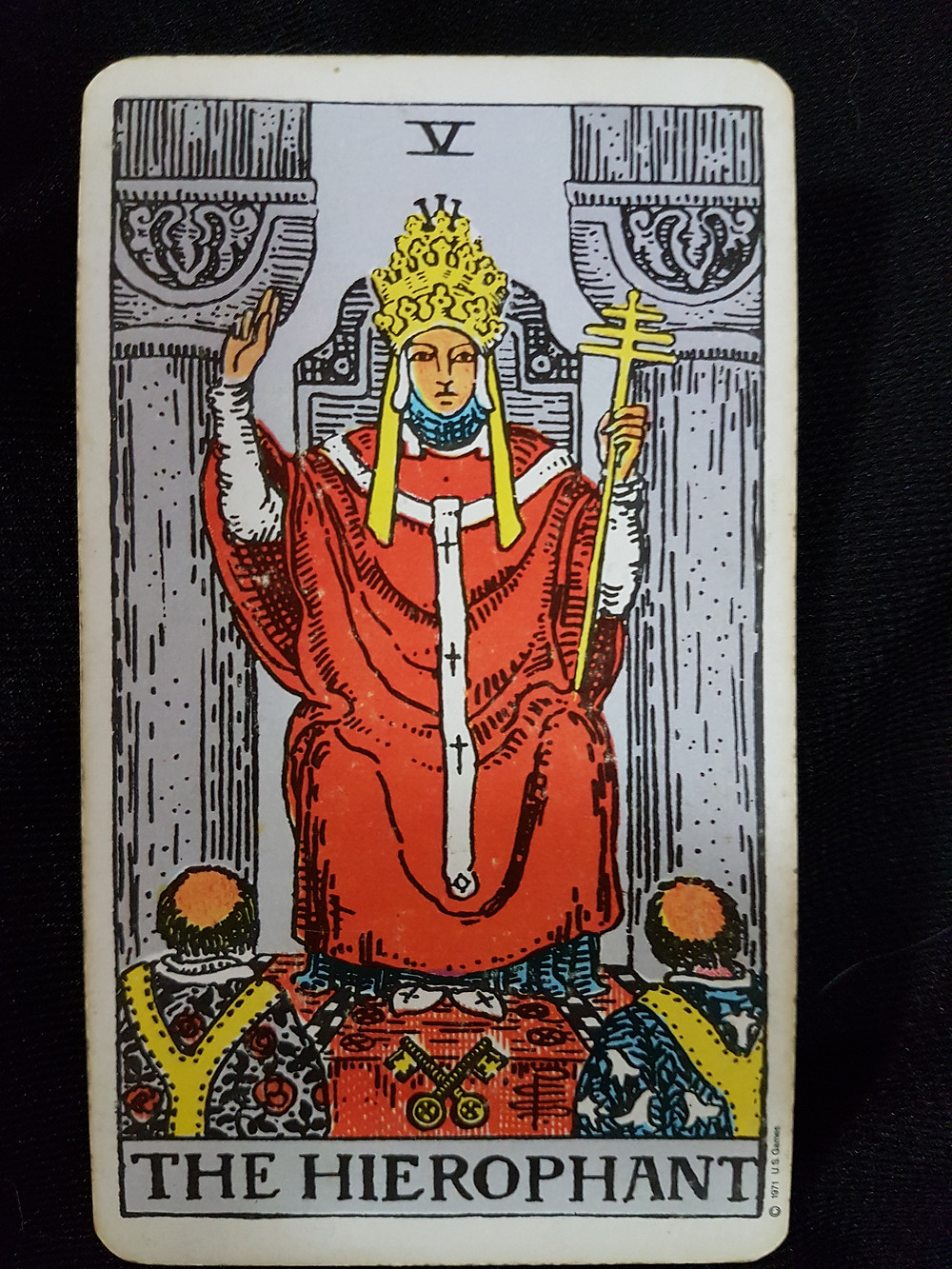 The Hierophant No 5 | lynsreadings.com