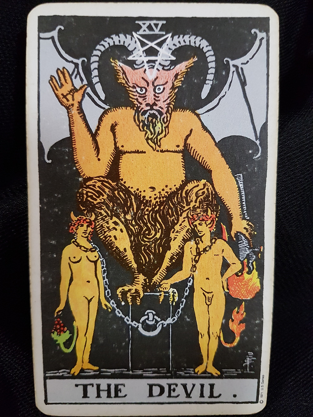 The Devil Card 15/6 - lynsreadings.com