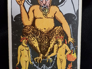 The Devil Card No 15
