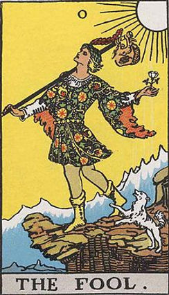 Th Fool's Journey - The Fool Card lynsreadings.com
