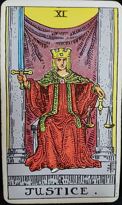 The Justice Card 11 lynsreadings.com
