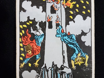 The Meaning of the Tower in the Tarot 16/7