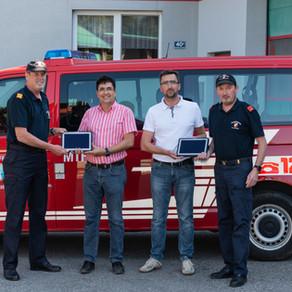 Einsatz-Tablets für unsere Feuerwehr