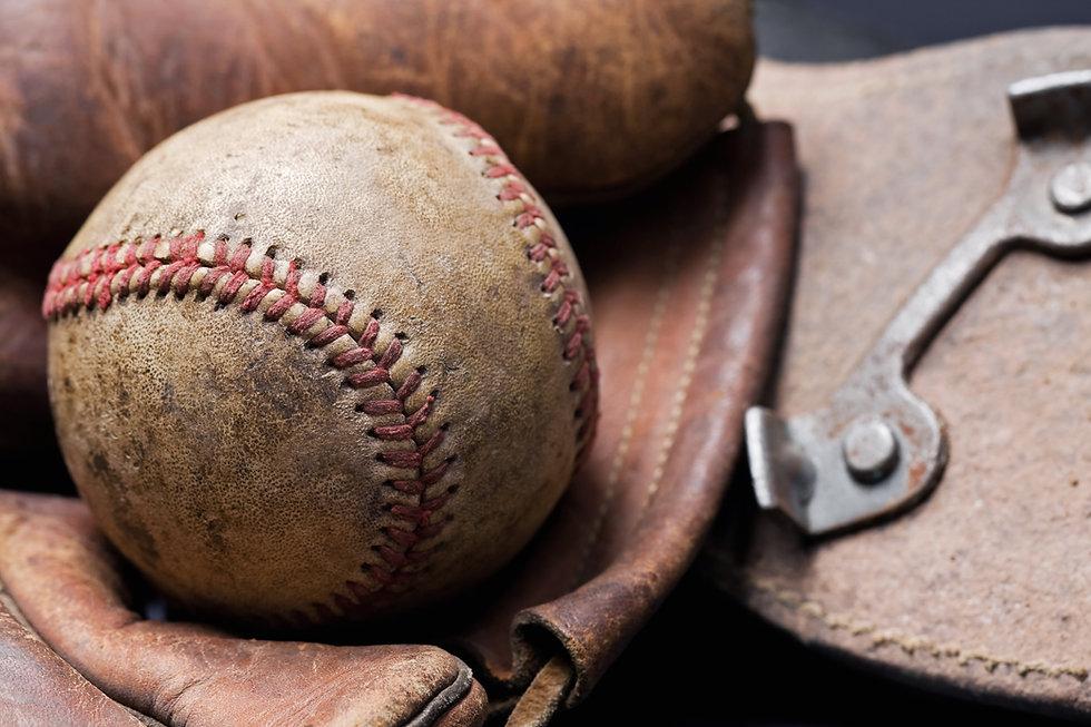 Vintage Baseball Ball