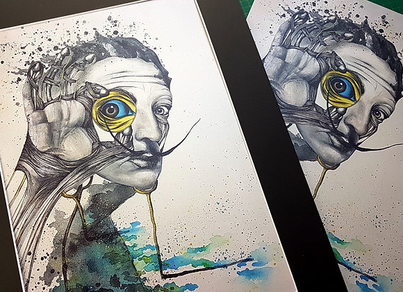 Limited edition Dali print