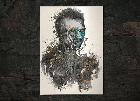 Ira A3 gold print