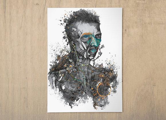 Ira A3 print