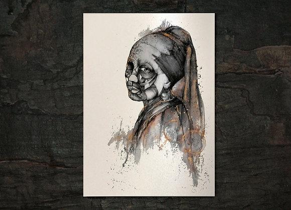 Luxuria A3 gold print