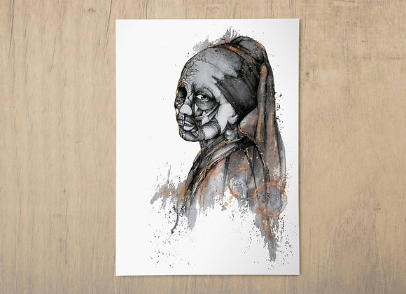 Luxuria A3 print