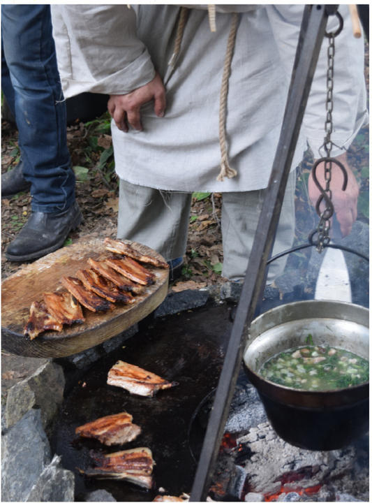 IRON AGE DINNER EXPERIENCE