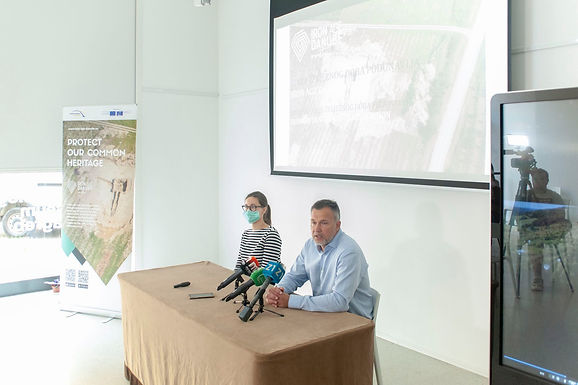 PRESS CONFERENCE AT ARCHAEOLOGICAL MUSEUM IN ZAGREB