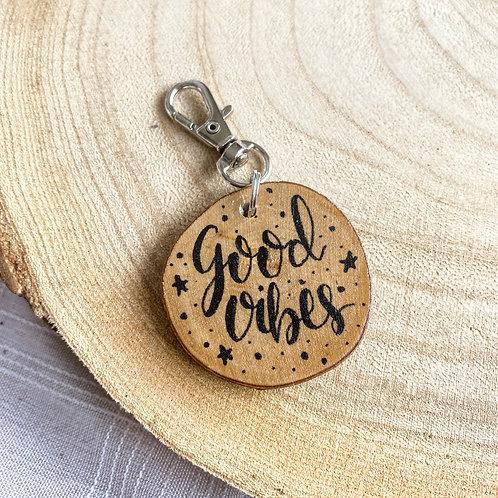 """Porte clés """"Good Vibes"""""""