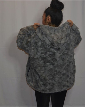 Winter Icey Fur Coat