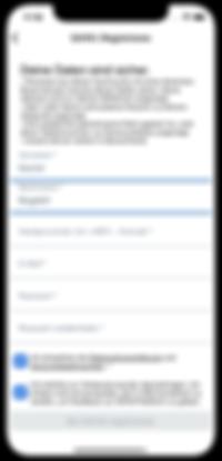 Registrierung | Mitarbeitermobilität | App | SAYM Mobility | Aachen