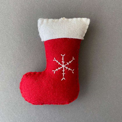Santa Boot Decoration