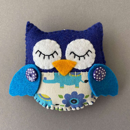 Blue Owl Decoration