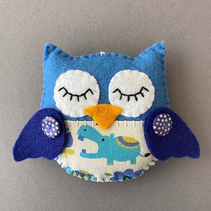 Blue Owl Decoration