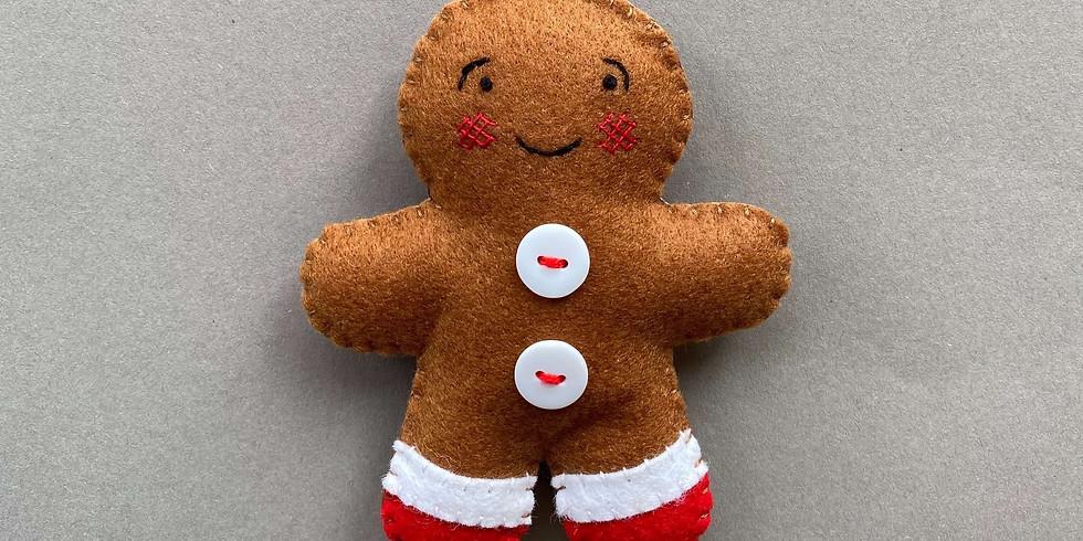 Gingerbread Man Workshop 19:30