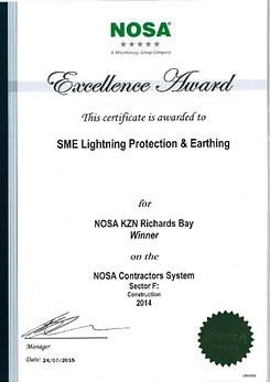 nosa safety award