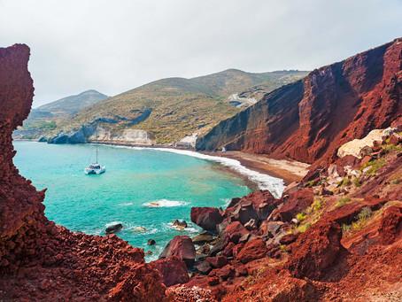Santorini's Beaches