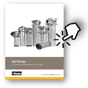 GLF Series Low Pressure Tank Top Return Line Filters