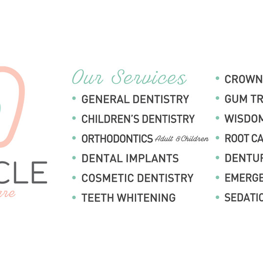 Our services....