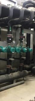 Equipo bombep circuito agua caliente Hotel