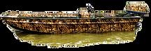 Camoflage Boat