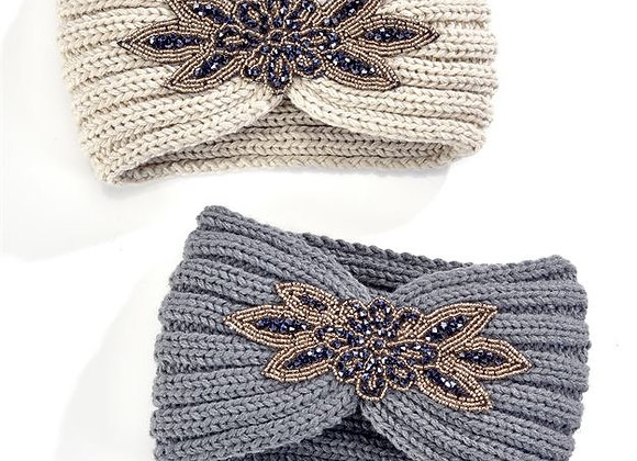 Headband w/Jewels, 2 Colors