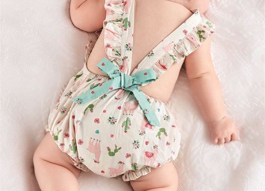 Infant Cross Back Romper