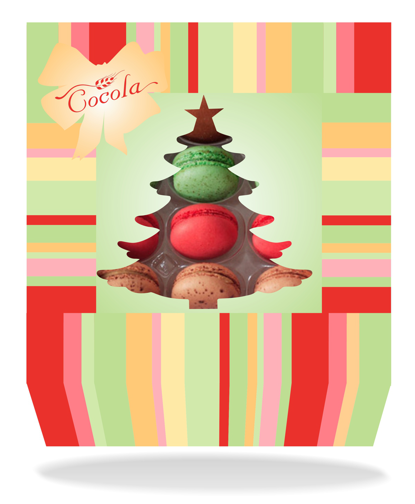 Cookie Box Label for the Holiday