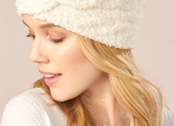 Soft Lined Headband in 2 Assorted Colors