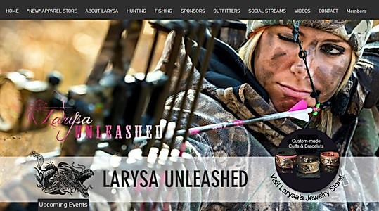 larysaunleashed.com