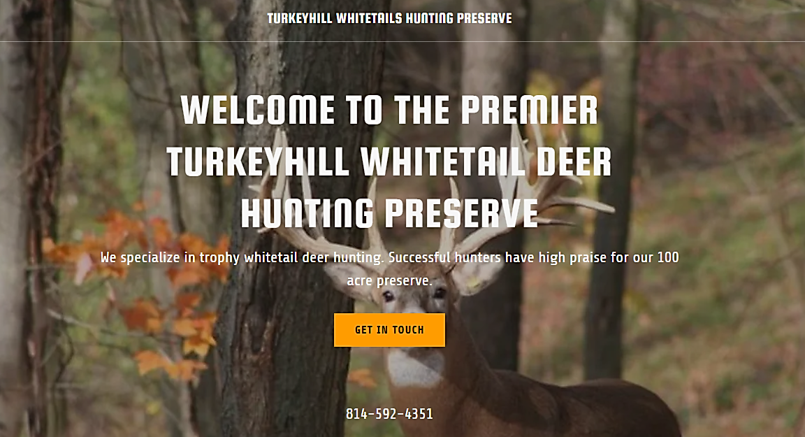 turkeyhillwhitetailhunts.com