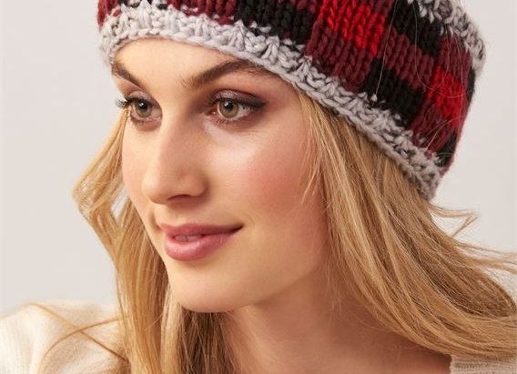Sherpa Lined Red Plaid