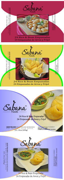 Sabina Foods Label
