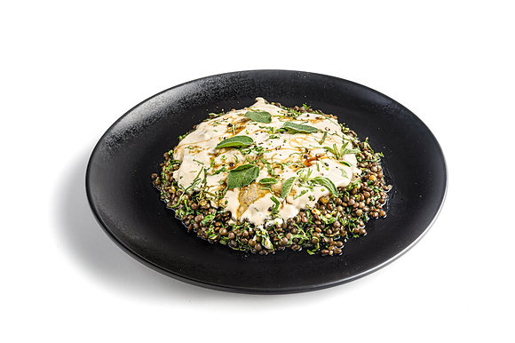 סלט עדשים   Lentils salad
