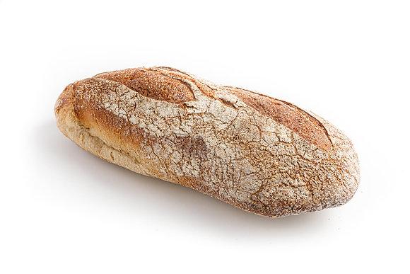 0.5 לחם כפרי צרפתי חום   French Rustic Brown Bread 0.5 kg
