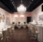 Beauty Bar Champagne Lacquerie Nail Salon Montreal Chandelier