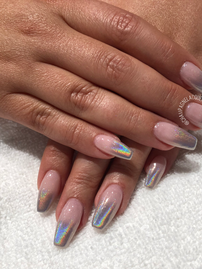 Halographic  nail extension
