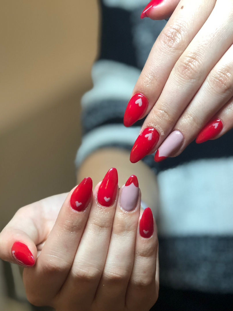 heart nail extensions