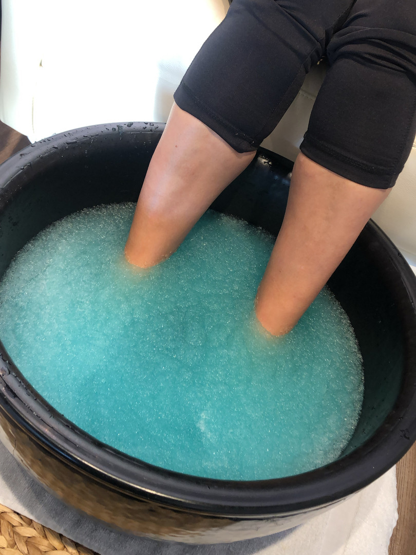 Jelly pedicure
