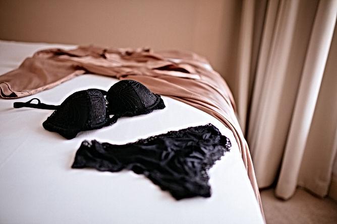 Underwear on Bed