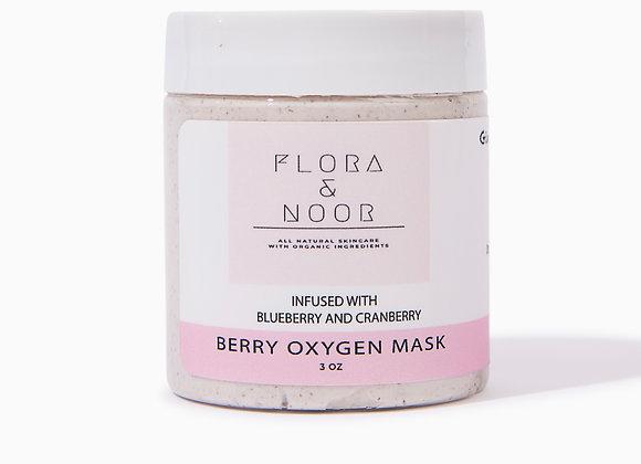 Berry Oxygen Mask With Glycolic Acid