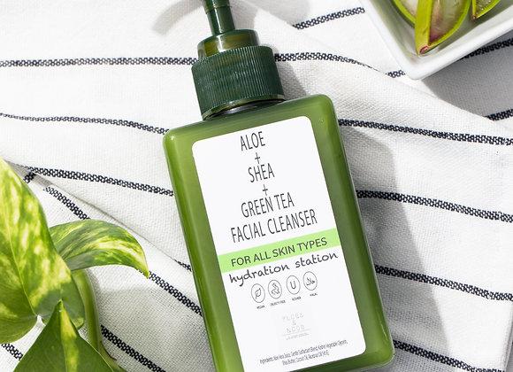 Hydration Station Aloe + Green Tea Cleanser