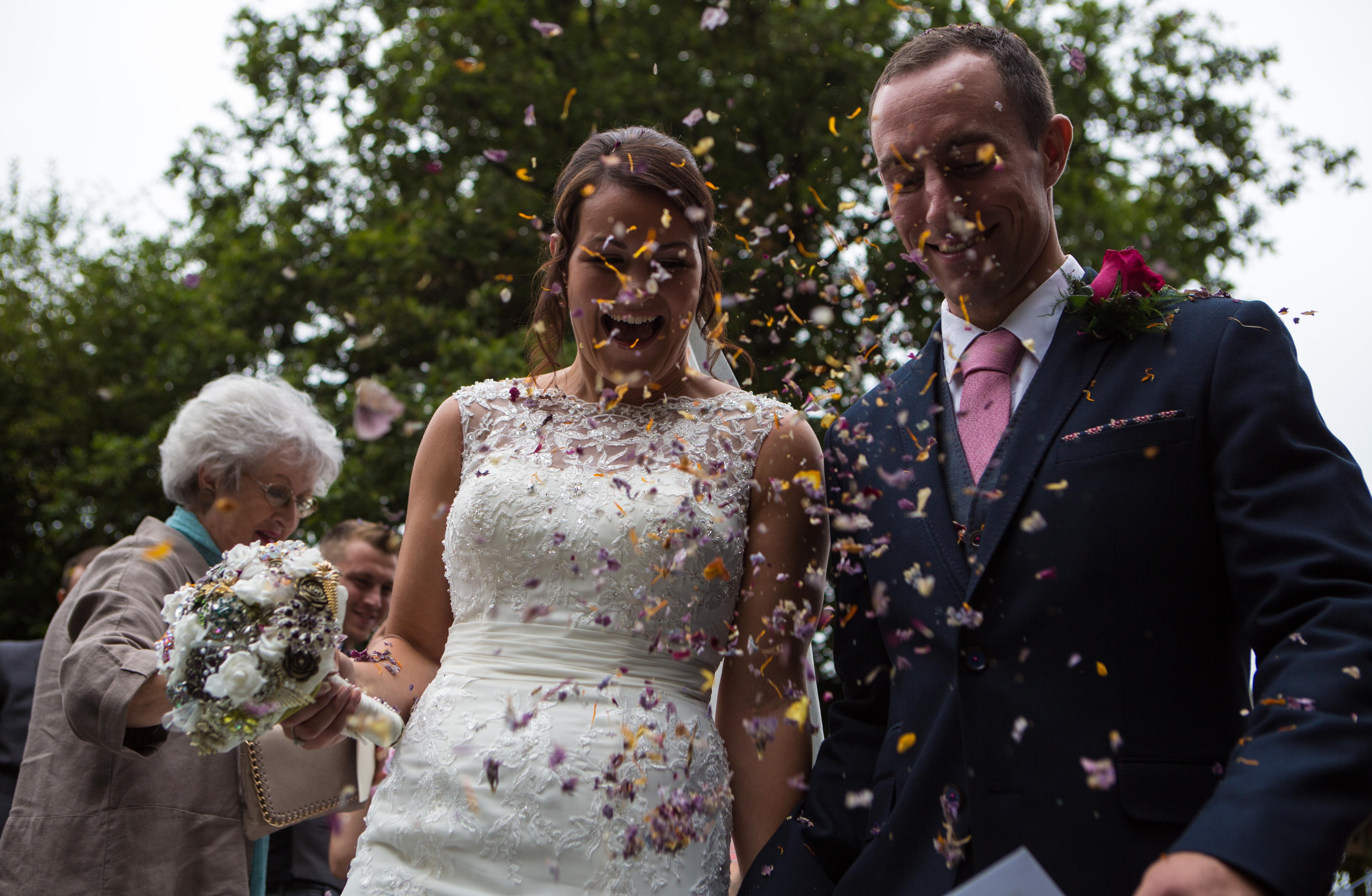 Antony & Scarlett's wedding