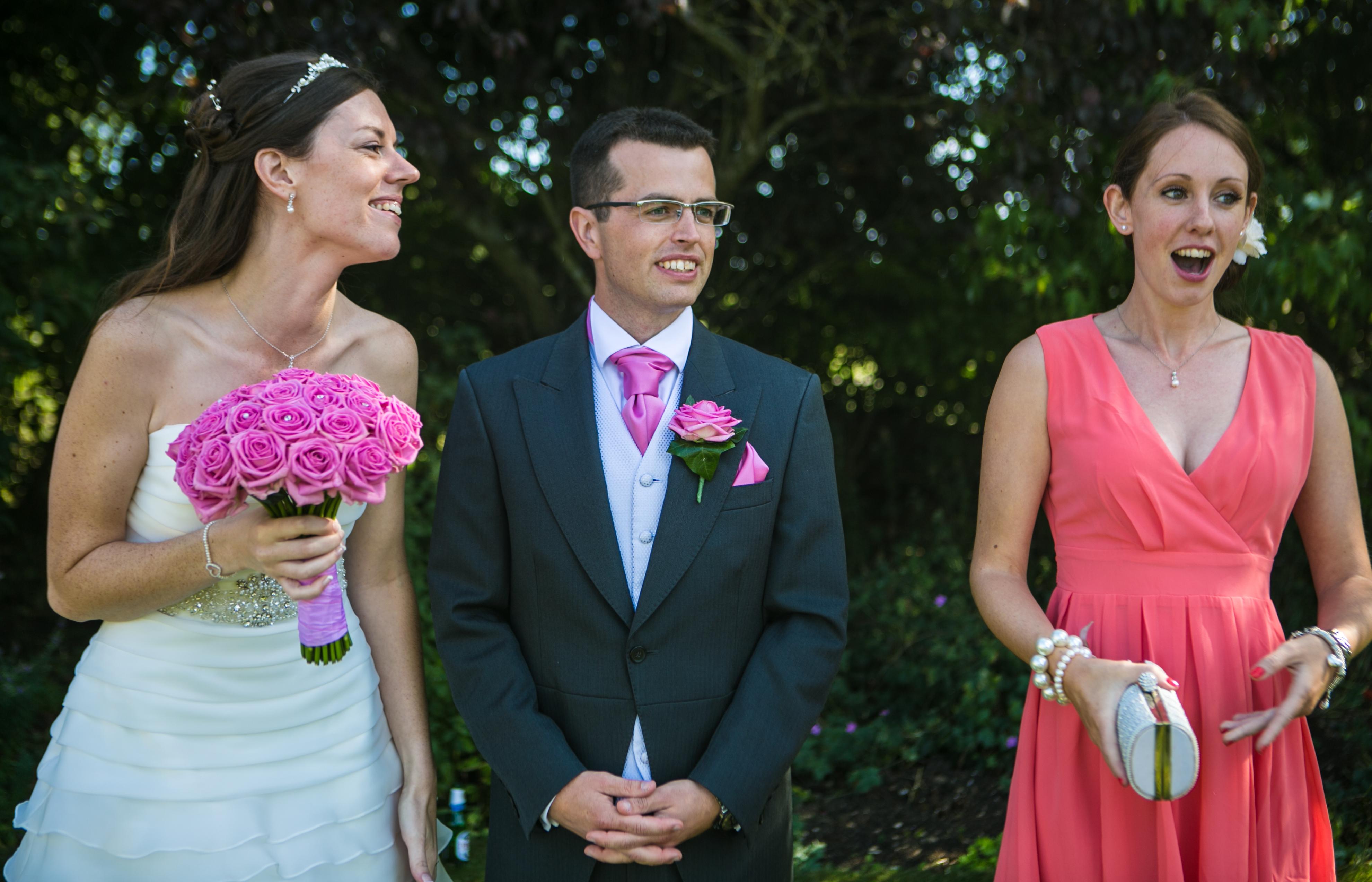 Amy & James' wedding